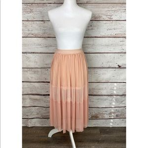 Filly Flair Peach Ombré Medium Max Skirt